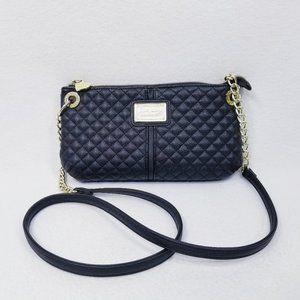 Betsey Johnon Quilted Black Crossbody Purse